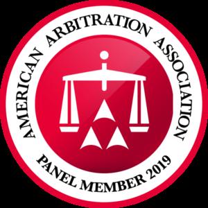 american arbitration association member logo 2019